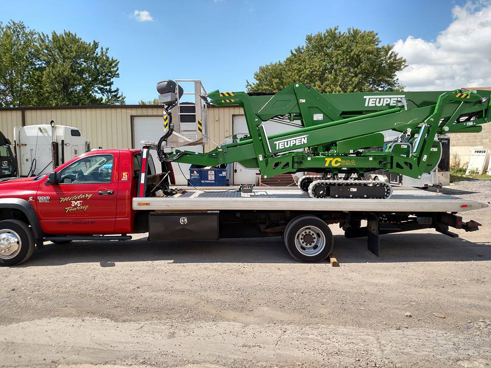 Heavy Equipment Towing in Lewiston NY